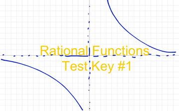 Rational Functions Test Part 2