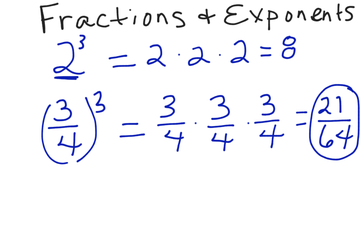 Fractions and Exponents