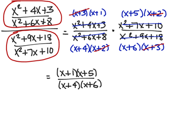 Simplifying Rational Expressions Including Complex Fractions