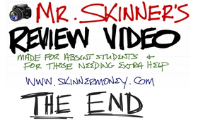 2-15-12 Mr. Skinner's Review Video