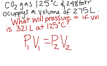 Gas Laws: Solving For Unknown Pressure